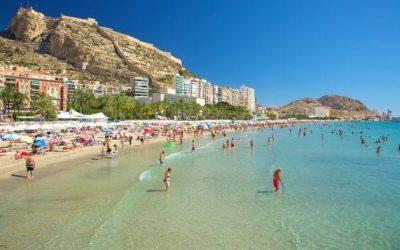 Visitamos Alicante: Playa del Postiguet